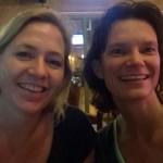 Collega Saskia & ik op Khoa San Road