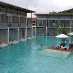 Prachtige zwembad bij Briza