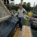 Voorbereiding van dakgoten afmaken