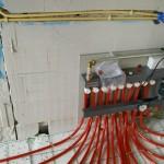 Verdeler voor vloerverwarming
