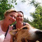 Met Femke en Kika wandelen