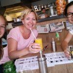 Met de diva's Julia en Lizelotte lunchen in de stad