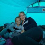 Nouks eerste kampeerervaring