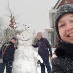 Sneeuwpret met de buurtjes