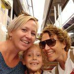 Voor het eerst in de metro