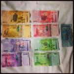 Je bent al heel snel miljonair in Oeganda €1 = 3500 shilling