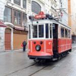Trammetje naar Taksim