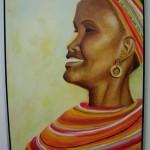Samburu vrouw (60*80)